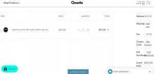 How to use a Quanta CBD coupon code