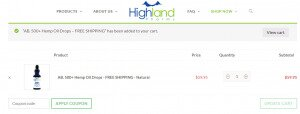 how to use a highland pharms coupon code