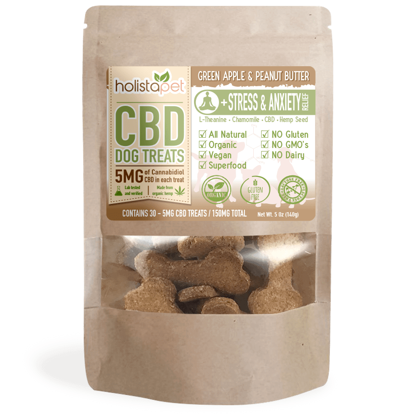 CBD Dog Treats - Stress & Anxiety Relief