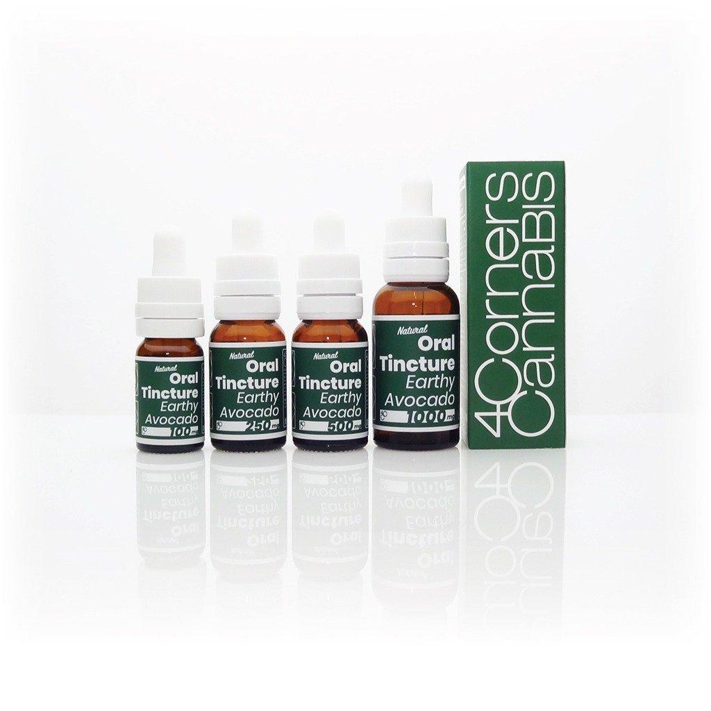4 Corners Cannabis CBD Oil Tincture Avocado