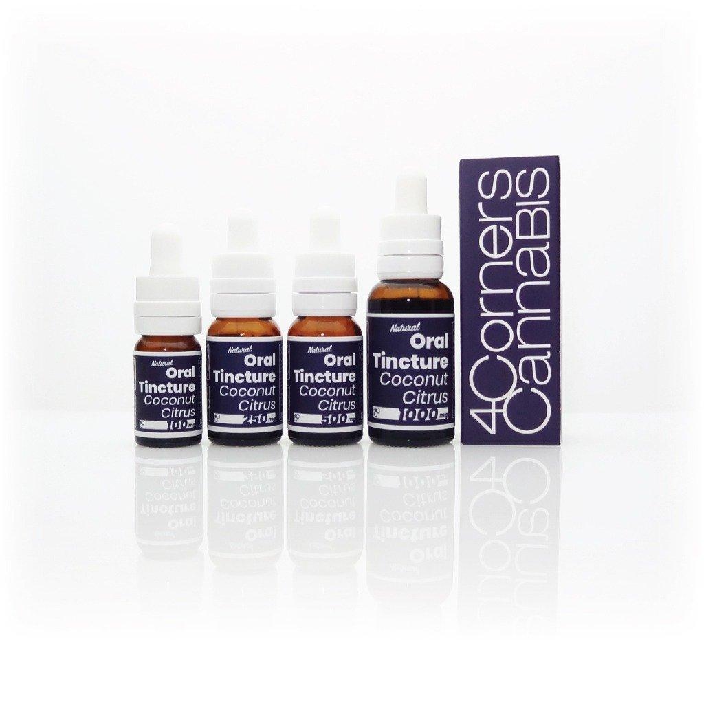 4 Corners Cannabis CBD Oil Tincture