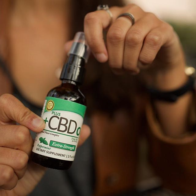 Plus CBD Oil Spray
