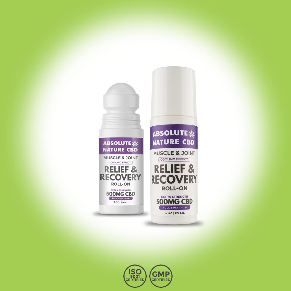 Absolute Nature CBD Relief & Recovery CBD Roll-On