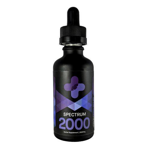 Ananda Hemp CBD Oil 2000mg full spectrum hemp extract