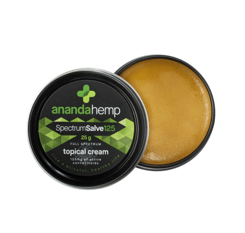 Ananda Hemp Spectrum Salve 125 Hemp Oil Topical Cream
