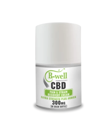 B-Well Pharmaceutical CBD Pain and Strain Recovery Cream