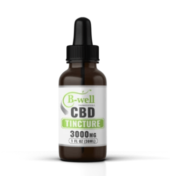 B-Well Pharmaceutical CBD Tincture 3000mg