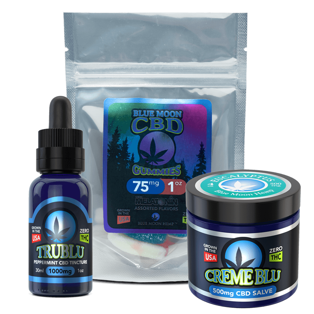 Blue Moon Hemp Wellness Bundle