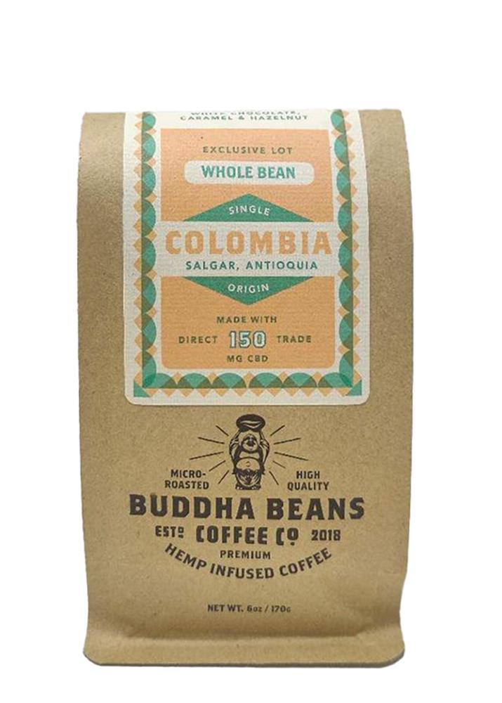 Buddha Beans Coffee CO Colombia CBD Coffee