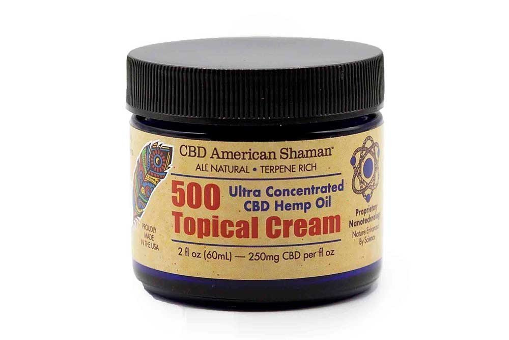 CBD American Shaman Topical Cream 500mg