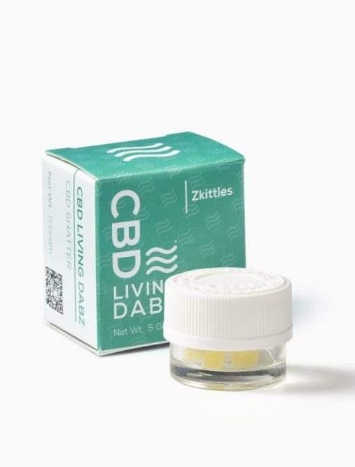 CBD Living CBD Dabz Zkittles 500 mg