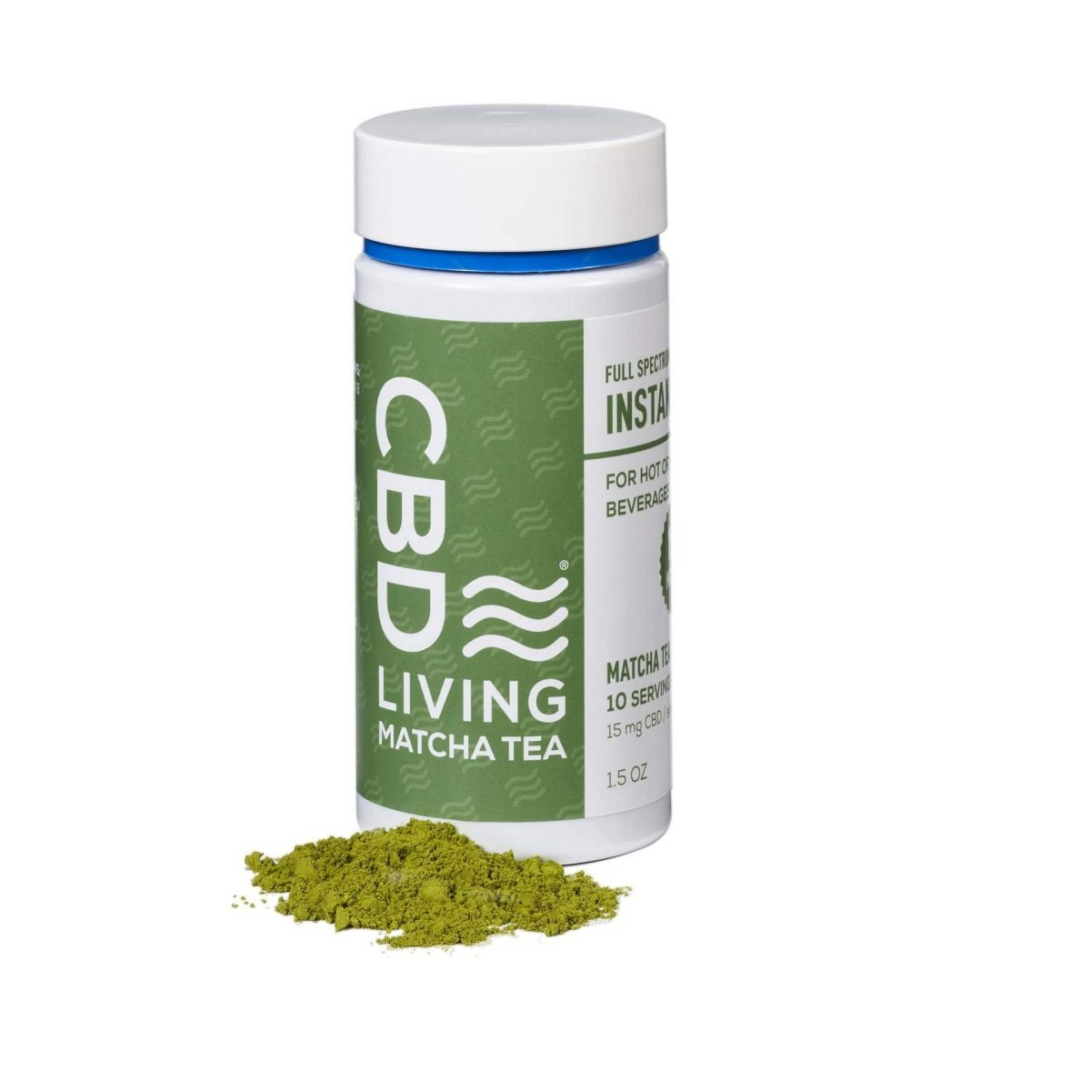 CBD Living Loose Leaf CBD Matcha Tea