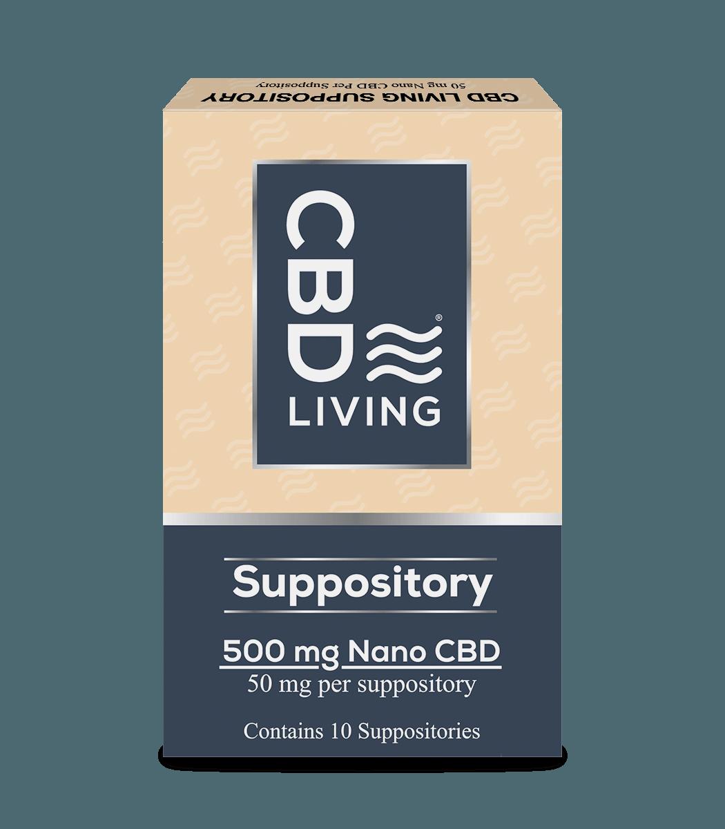 CBD Living Nano CBD Suppositories