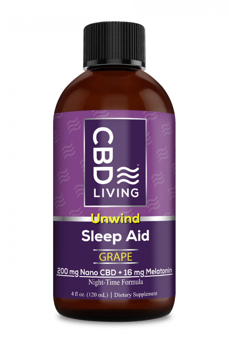 CBD Living Sleep Aid Syrup