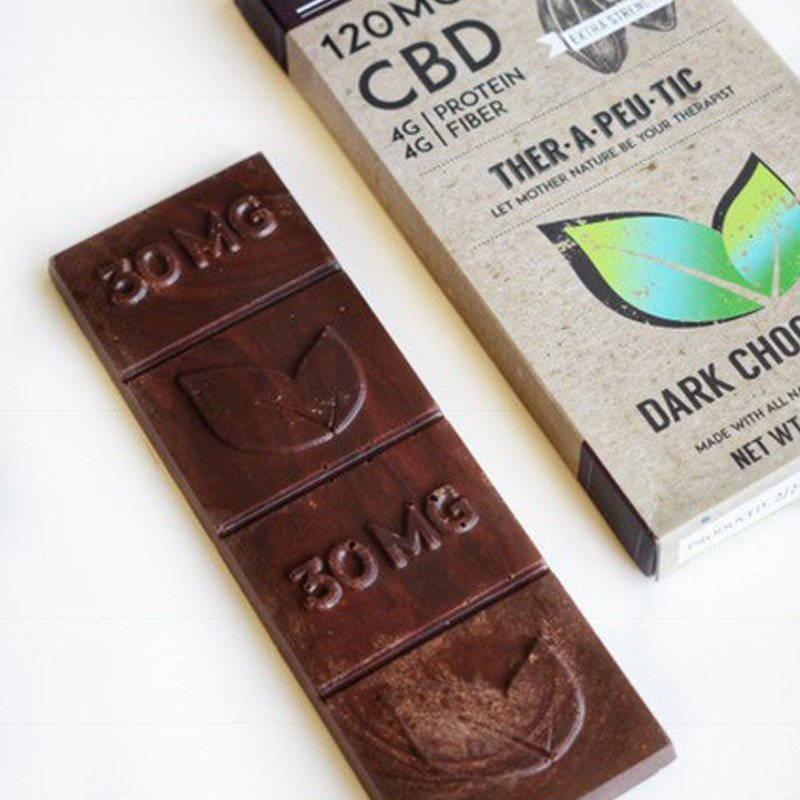 CBD Oil Solutions CBD Dark Chocolate Bar