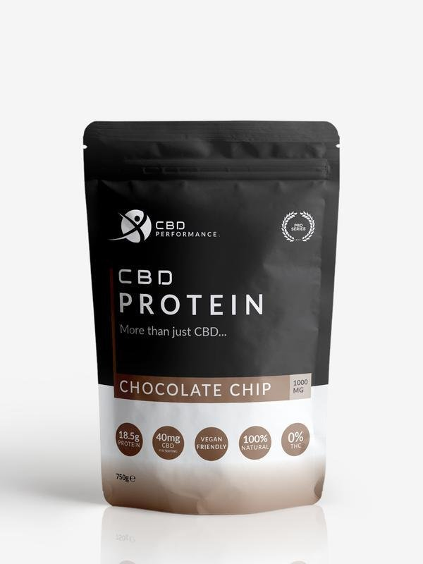 CBD Performance Protein Powder Chocolate Chip