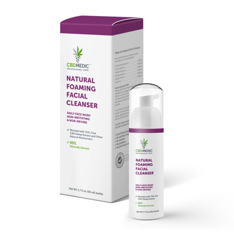 CBDMEDIC Facial Cleanser