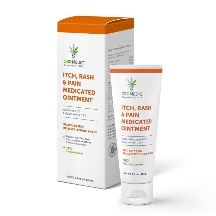 CBDMEDIC Itch & Rash Ointment