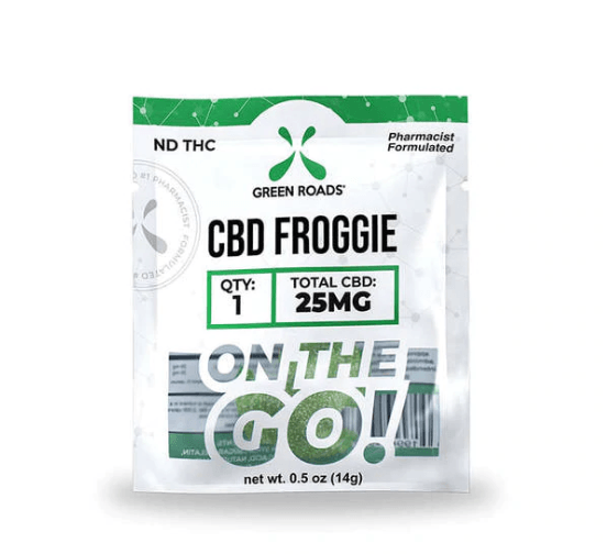 CBD.co Green Roads CBD Froggie Edibles