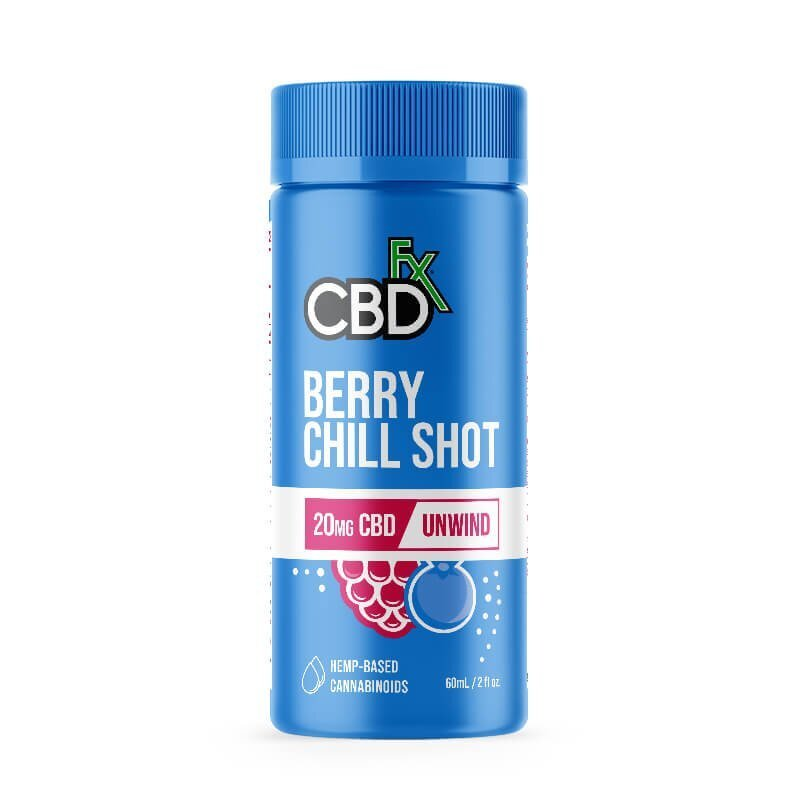 CBDfx CBD Berry Chill Shot