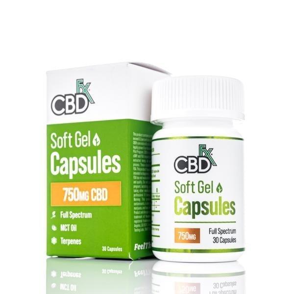 CBDfx Soft Gel CBD Capsules
