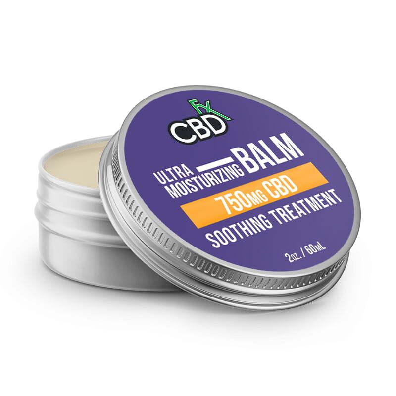 CBDfx CBD Ultra Moisturizing Balm