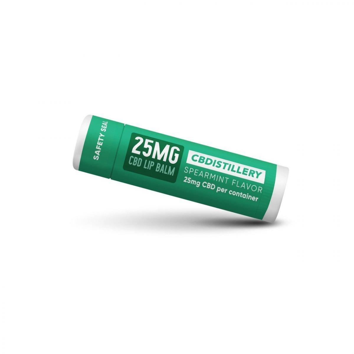CBDistillery CBD Lip Balm Spearmint Flavor