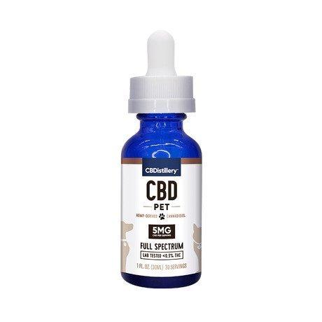 CBDistillery Pet Tincture CBD Oil Full Spectrum