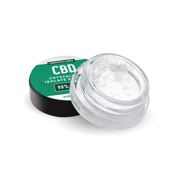 CBDistillery Pure CBD Isolate Powder (Crystalline)