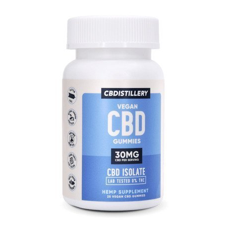 CBDistillery Vegan CBD Gummies