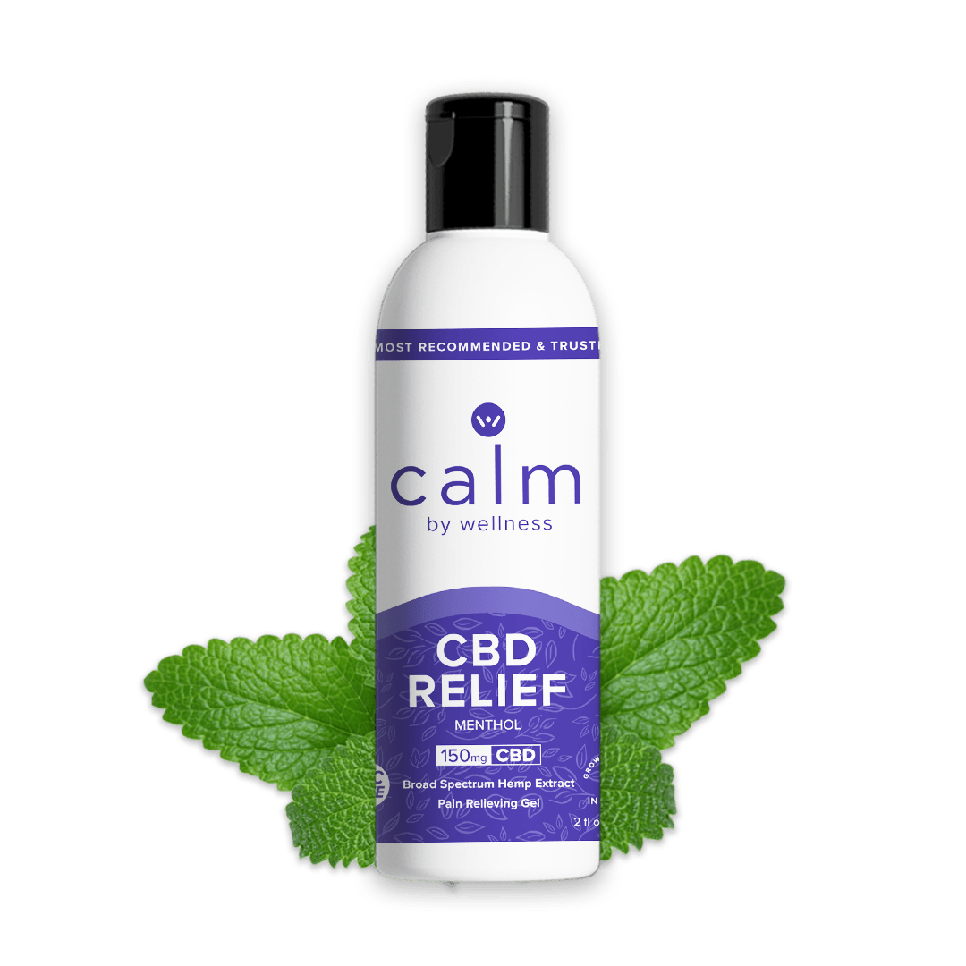 Calm by Wellness Hemp CBD Muscle Gel Relief