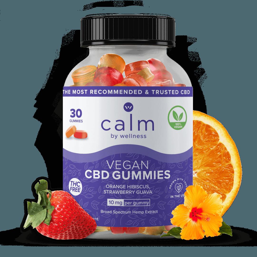 Calm by Wellness Hemp CBD Vegan Gummies