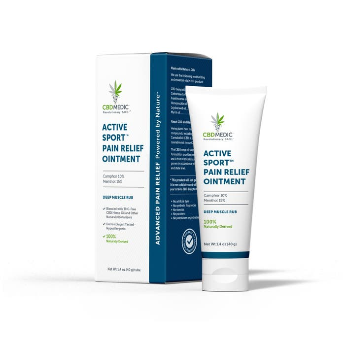Charlotte's Web CBDMedic Active Sport Pain Relief Ointment