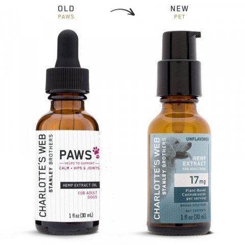 Charlotte's Web Hemp Extract Oil For Dogs