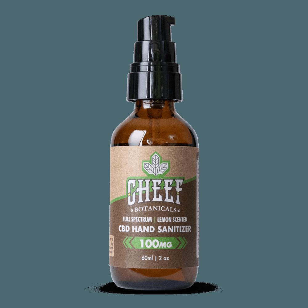 Cheef Botanicals CBD Hand Sanitizer