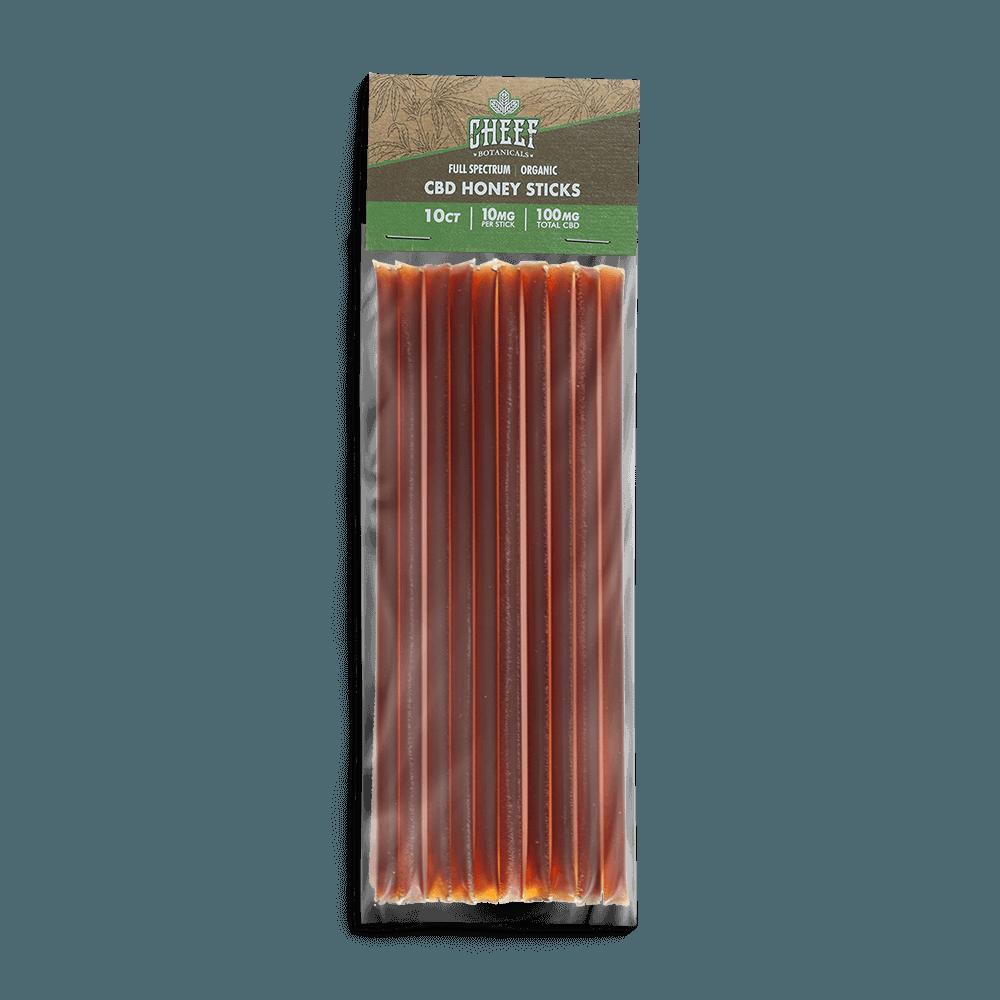 Cheef Botanicals CBD Honey Sticks