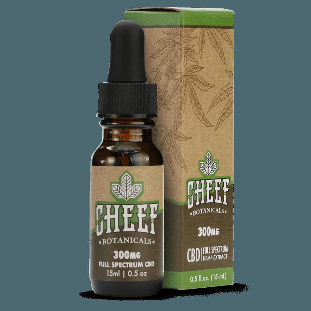 Cheef Botanicals Full-Spectrum CBD Oil