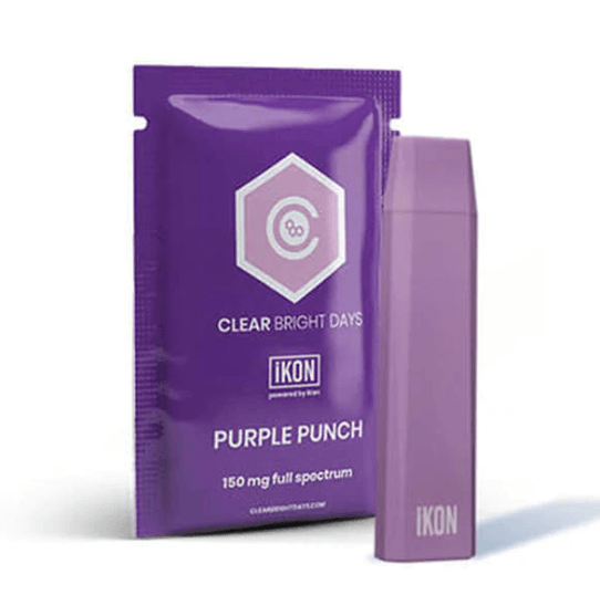 Clear Bright Days Purple Punch CBD Device