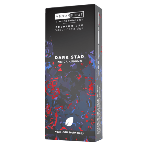 Creating Better Days Nano-CBD Full Spectrum Cartridge Dark Star 500mg