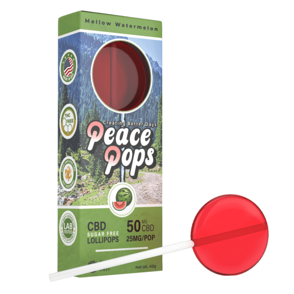 Creating Better Days Peace Pop Mellow Watermelon