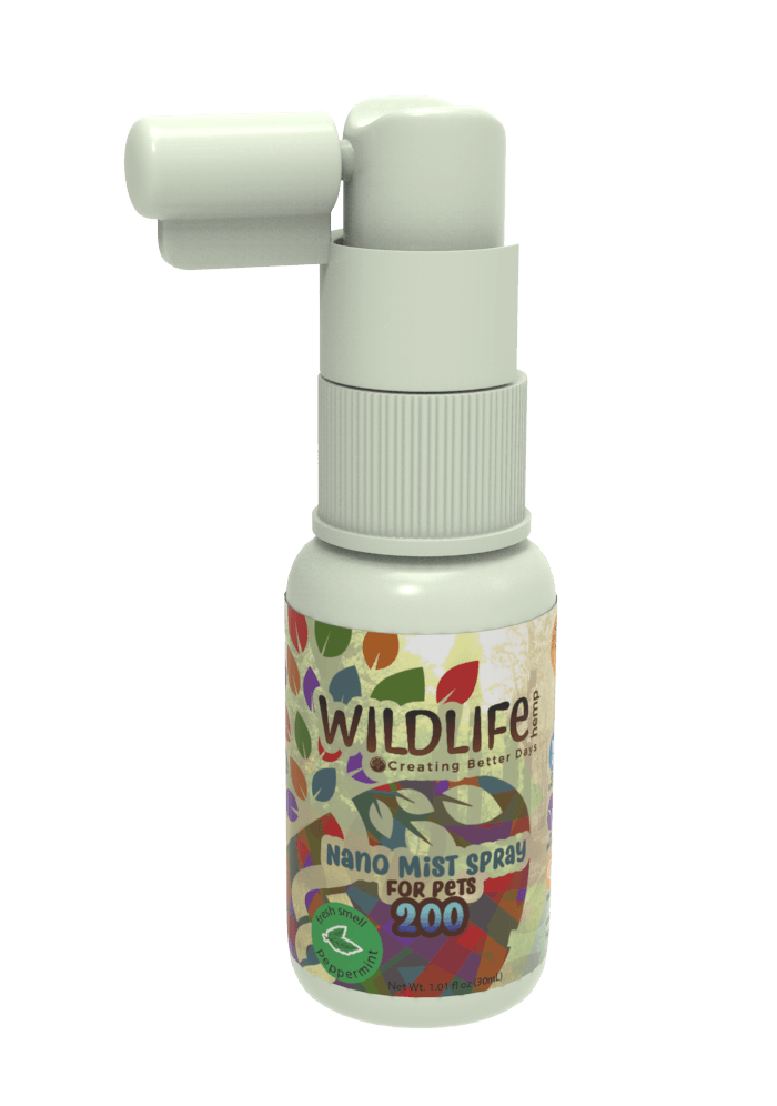 Creating Better Days Nano-CBD Pet Mist Spray 200mg