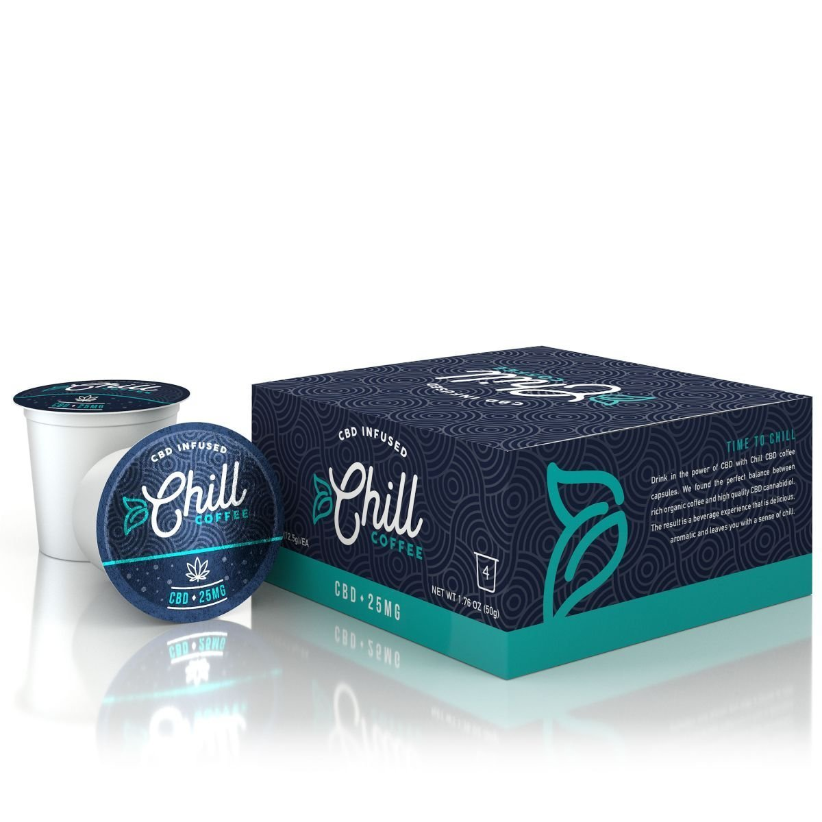 Diamond CBD Chill CBD Coffee 4 pack