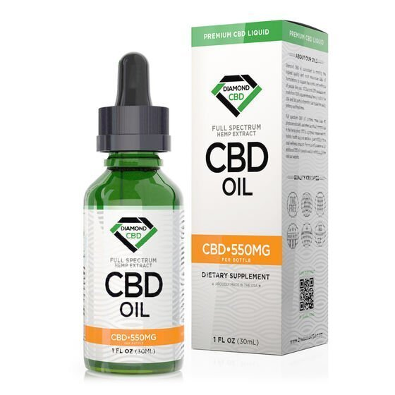 Diamond CBD Unflavored CBD Oil