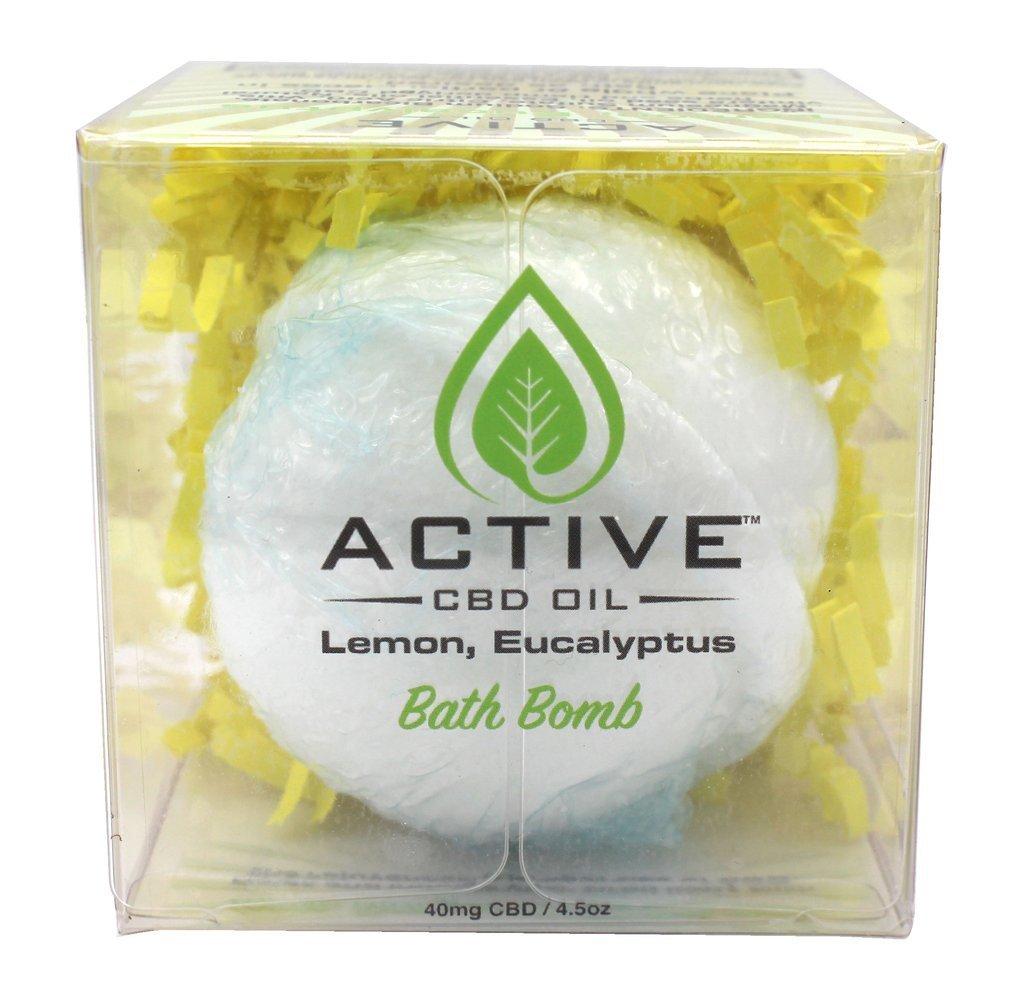 Discover CBD Active CBD Bath Bomb