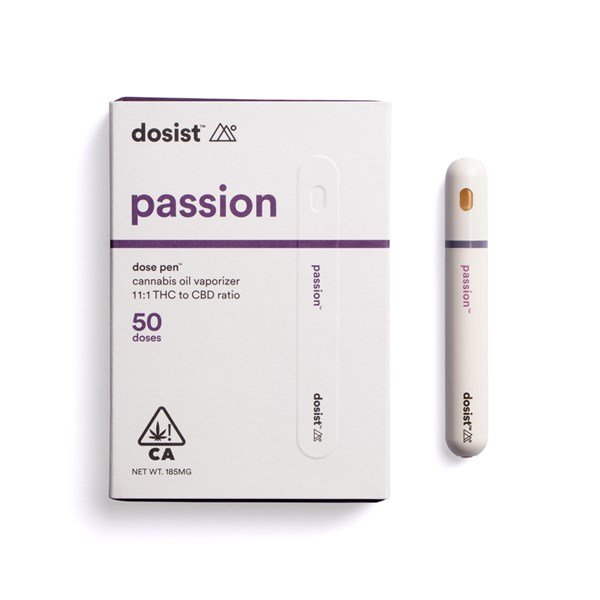 Eaze dosist passion dose pen cannabis oil vaporizer