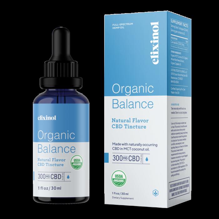 Elixinol CBD Oil Organic Balance Tincture