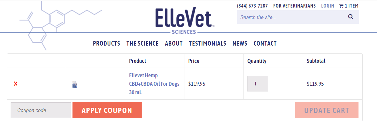 ElleVet Sciences Coupon Code