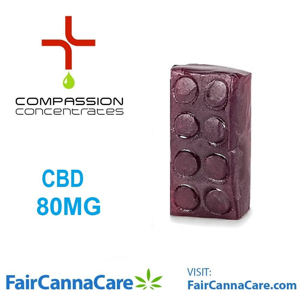 FairCannaCare CBD Gummies 80mg