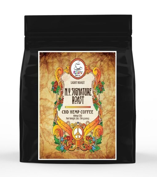 Flower Power Coffee Co. New Your Signature House Blend