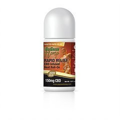 Go Green Hemp CBD Infused Heat Roll-On